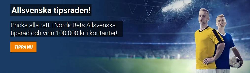Spela på Allsvenskan 2019 med fina erbjudanden