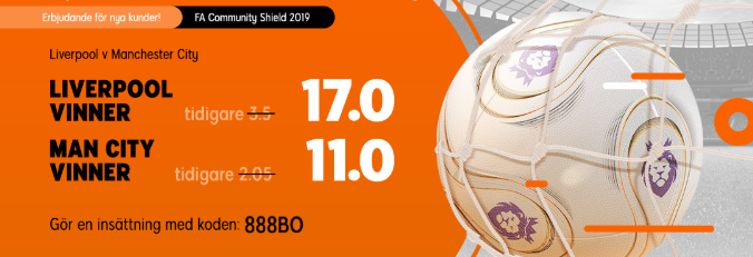 Liverpool - Man City möts i Community Shield 2019