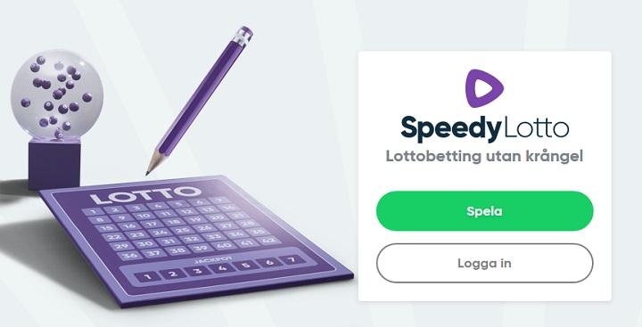 Speedylotto - Betting på lotto