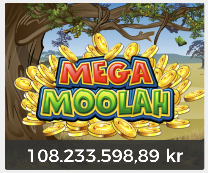 Mega Moolah nu över 100 miljoner kr i jackpott