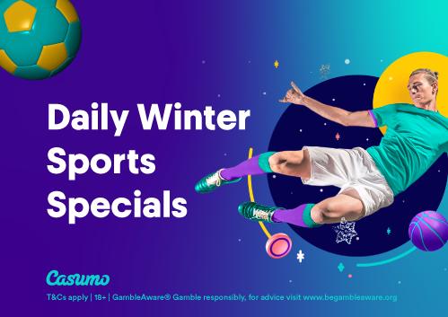 Casumo julkalender 2020 på sport