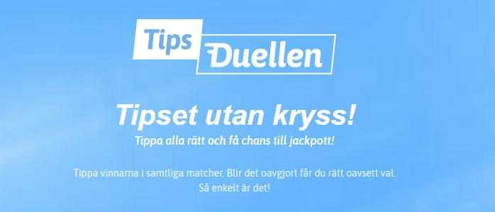 Tipsduellen - Nytt Stryktips hos Snabbare.com