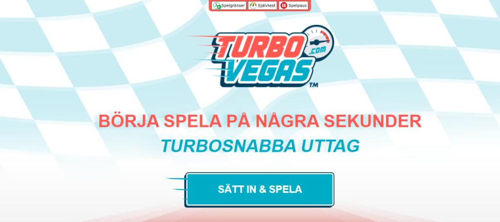 TurboVegas - Betta snabbt och enkelt