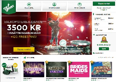 Mr Green casino bonusar - 1000 kr i bonus + 200 free spins!