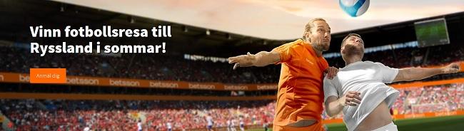 Vinna resor till Fotbolls VM från spelbolagen