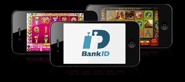 Casino med BankID och mobilt BankID inloggning
