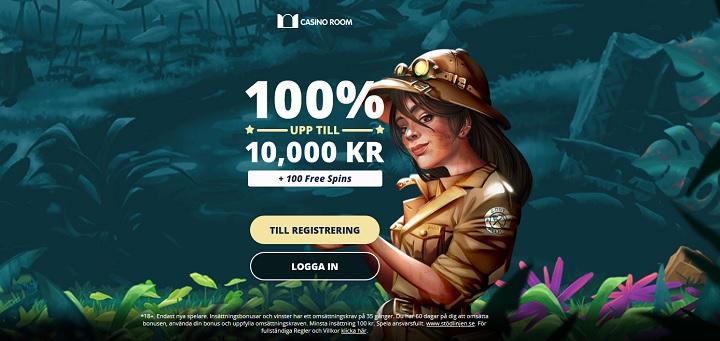 Casinoroom Casinobonus 2020 på 10000 kr