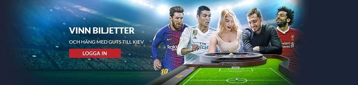 Se Champions League finalen live med Guts