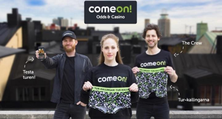 Få Lucky Underwear och bra bonus hos Comeon