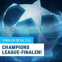 Vinn resa till Champions League finalen med Coolbet