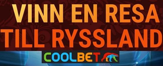 Vinn resa till Fotbolls VM med Coolbet