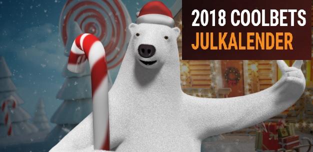Coolbet, Bethard och Rizk julkalendrar 2018 är igång