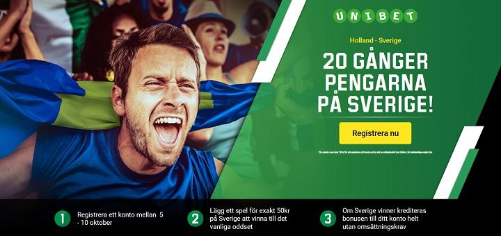 Spela på VM-kvalet den 10 oktober 2017