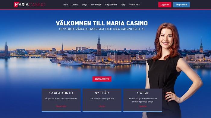 Maria casino bonus