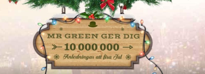 Mr Green julkalendrar 2017