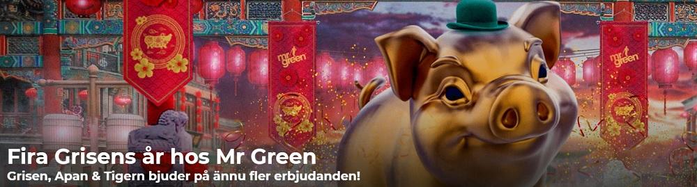 Fira Kinesiskt nyår med Mr Green 2019