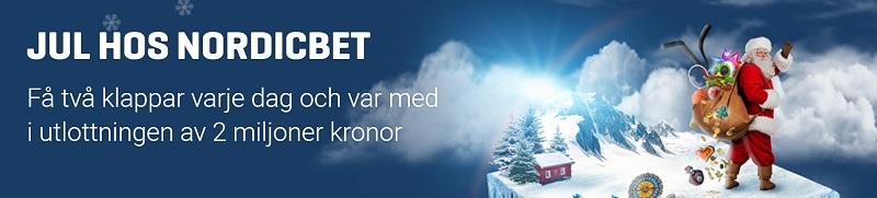 Nordicbet julkalender 2017