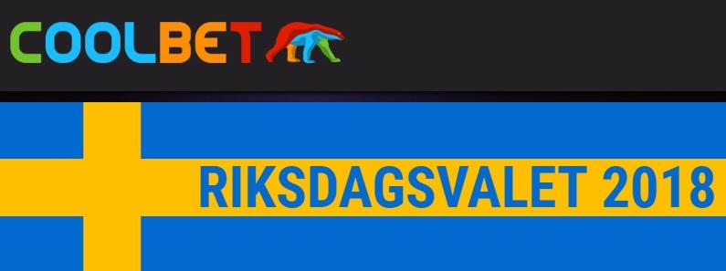 Odds på Riksdagsvalet 2018 hos spelbolagen
