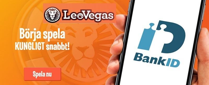 Spela på odds och casino utan konto hos LeoVegas