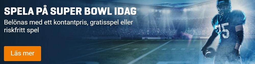 Nordicbet erbjudanden på Super Bowl 2018