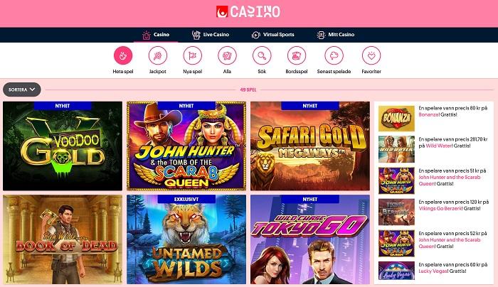 Svenska Spel casino bonus
