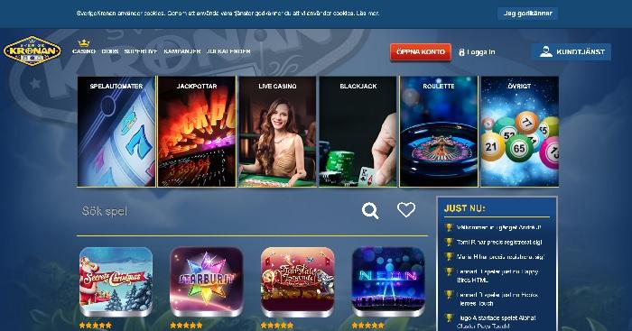 Sverigekronan casinobonus