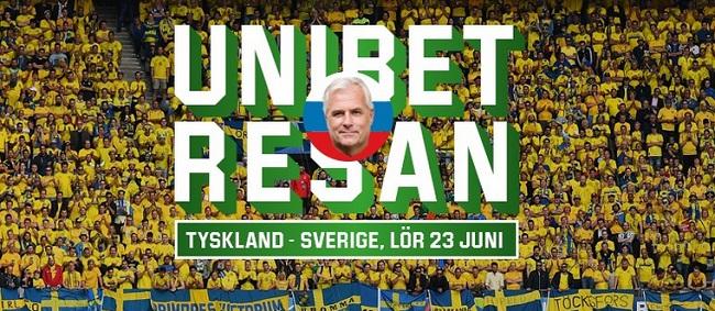 Vinn biljetter till Sverige - Tyskland i Fotbolls VM 2018