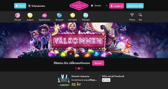Vinnarum casino bonus