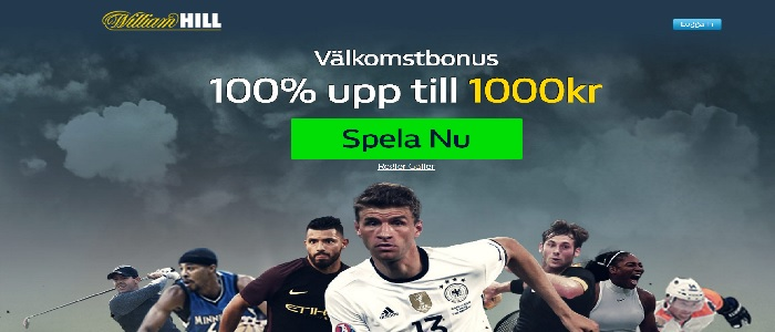 Ny WilliamHill oddsbonus 2017 värd 1000 kr